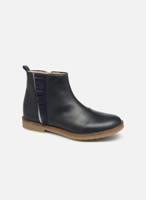 Bottines et boots Pom d Api Trip Fringe Bleu vue détail/paire