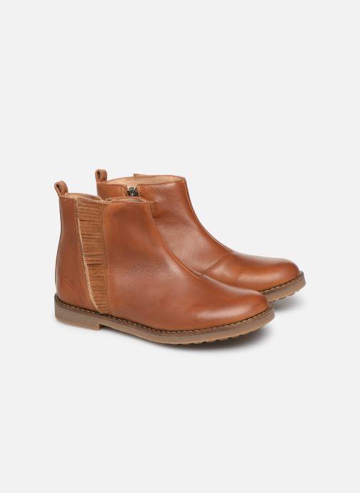Bottines et boots Pom d Api Trip Fringe Marron vue 3/4