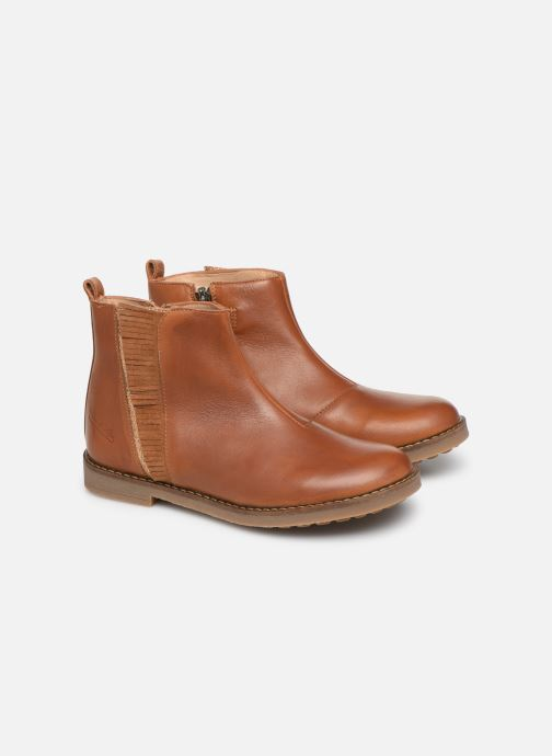 Boots en enkellaarsjes Pom d Api Trip Fringe Bruin 3/4'