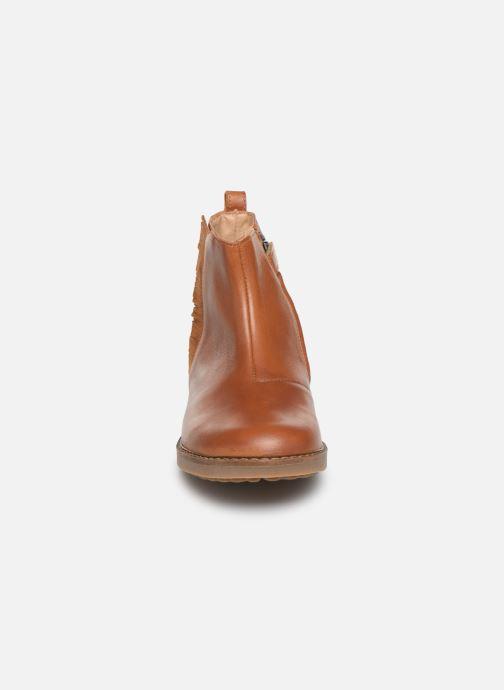 Bottines et boots Pom d Api Trip Fringe Marron vue portées chaussures