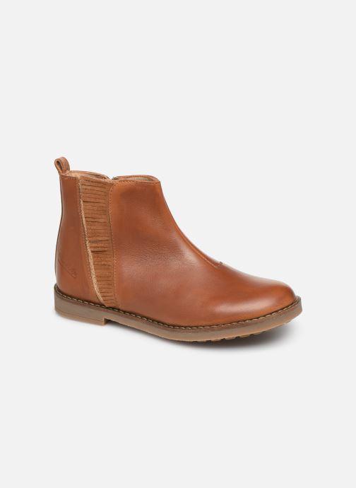 Boots en enkellaarsjes Pom d Api Trip Fringe Bruin detail