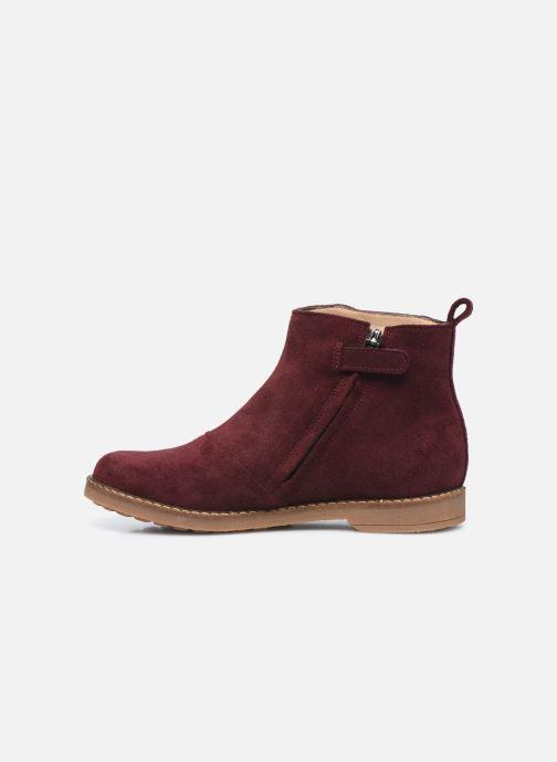 Boots en enkellaarsjes Pom d Api Trip Fringe Paars voorkant