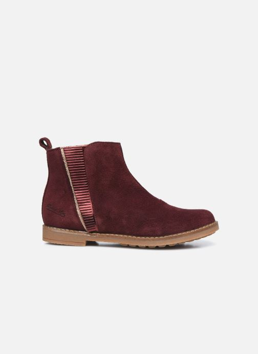 Boots en enkellaarsjes Pom d Api Trip Fringe Paars achterkant