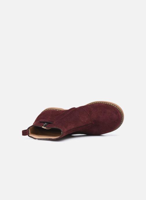 Stiefeletten & Boots Pom d Api Trip Fringe lila ansicht von links