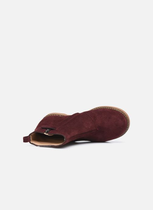Boots en enkellaarsjes Pom d Api Trip Fringe Paars links