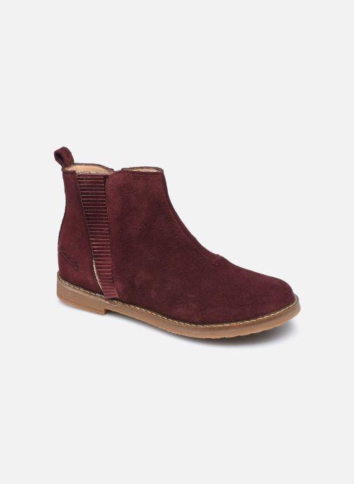 Bottines et boots Pom d Api Trip Fringe Violet vue détail/paire