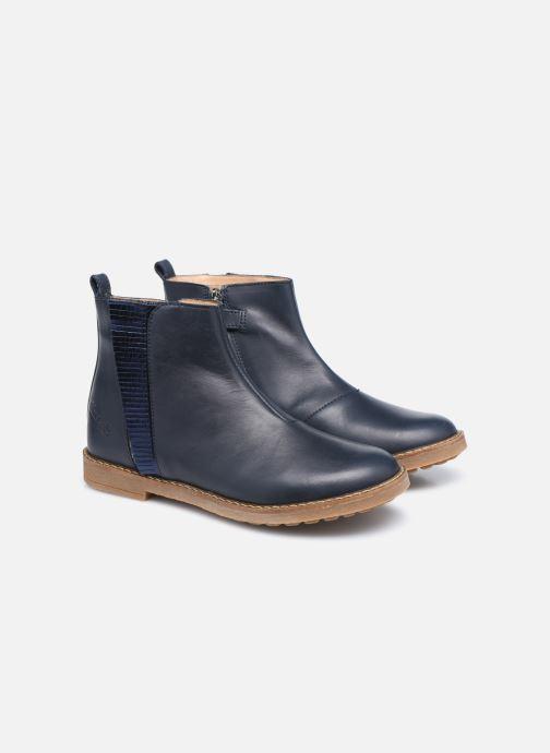 Stiefeletten & Boots Pom d Api Trip Fringe blau 3 von 4 ansichten