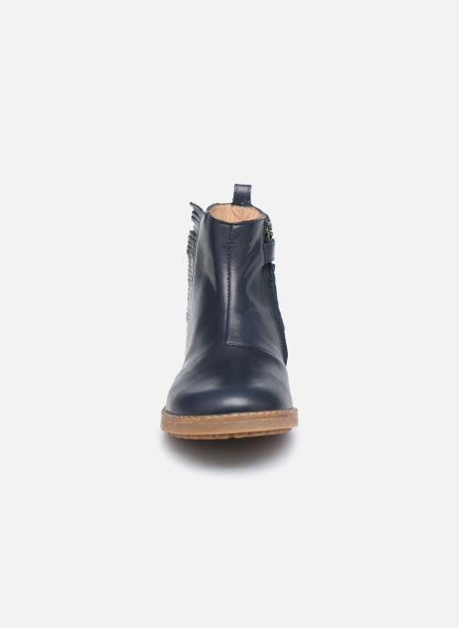 Stiefeletten & Boots Pom d Api Trip Fringe blau schuhe getragen