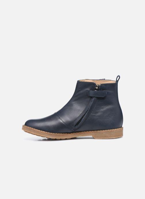 Stiefeletten & Boots Pom d Api Trip Fringe blau ansicht von vorne