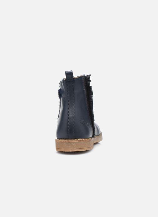 Stiefeletten & Boots Pom d Api Trip Fringe blau ansicht von rechts