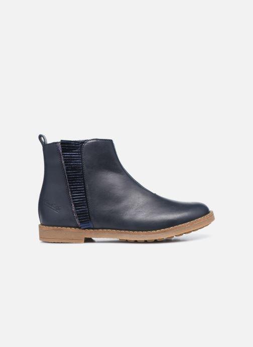 Stiefeletten & Boots Pom d Api Trip Fringe blau ansicht von hinten