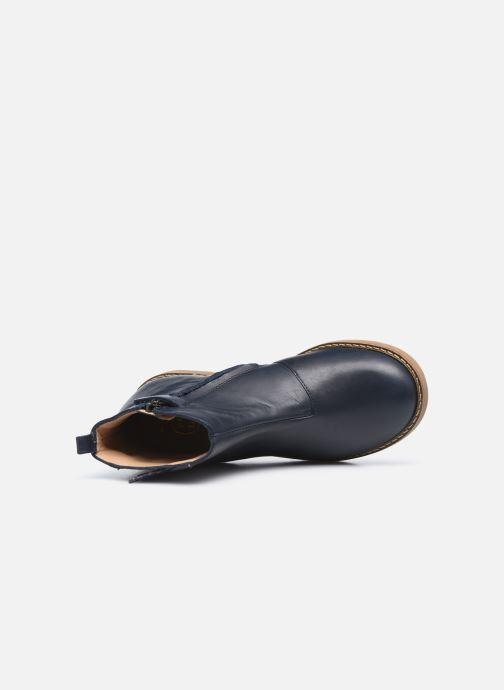 Stiefeletten & Boots Pom d Api Trip Fringe blau ansicht von links