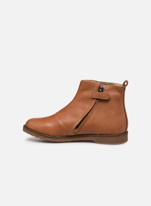 Stiefeletten & Boots Pom d Api Trip Fringe braun ansicht von vorne