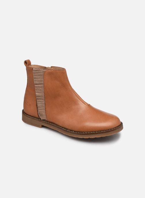 Stiefeletten & Boots Pom d Api Trip Fringe braun detaillierte ansicht/modell