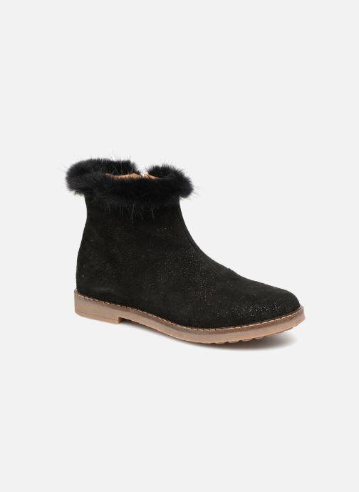 Bottines et boots Pom d Api Trip Boots Mink Noir vue 3/4