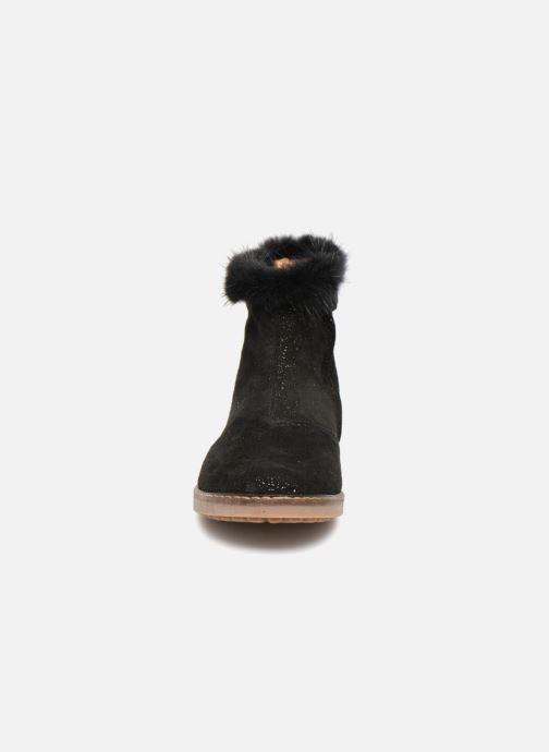 Bottines et boots Pom d Api Trip Boots Mink Noir vue portées chaussures