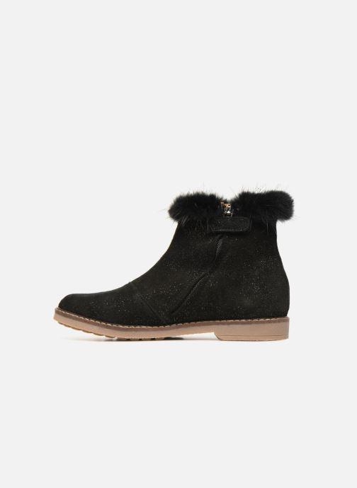 Boots en enkellaarsjes Pom d Api Trip Boots Mink Zwart voorkant
