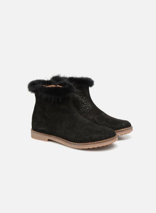 Bottines et boots Pom d Api Trip Boots Mink Noir vue détail/paire