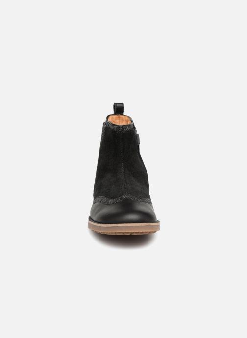 Bottines et boots Pom d Api New Trip Glitter Noir vue portées chaussures