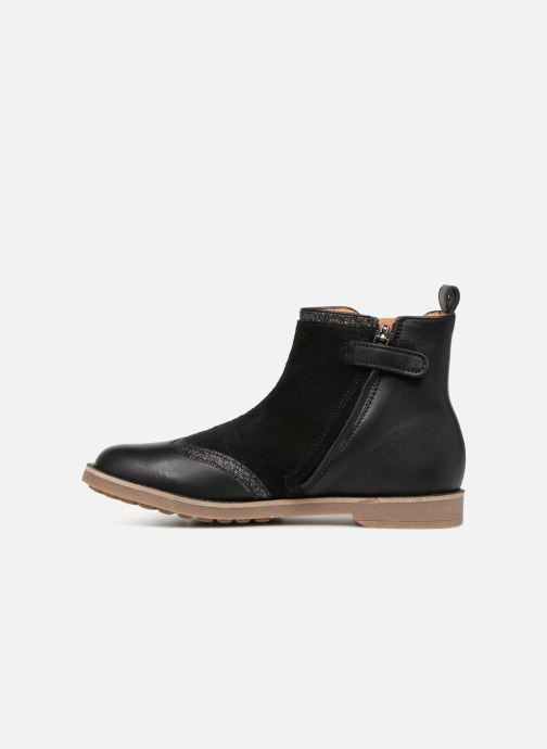 Boots en enkellaarsjes Pom d Api New Trip Glitter Zwart voorkant