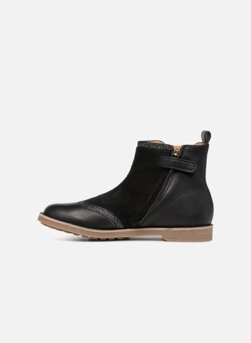 Bottines et boots Pom d Api New Trip Glitter Noir vue face