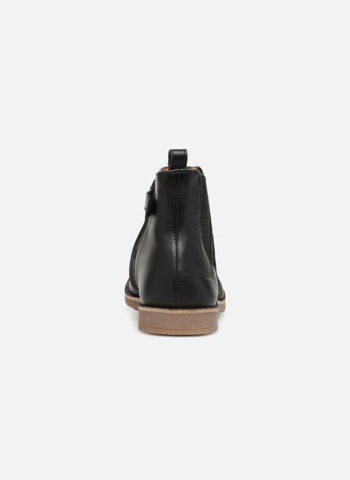 Boots en enkellaarsjes Pom d Api New Trip Glitter Zwart rechts