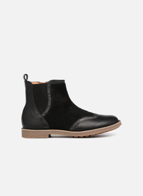Boots en enkellaarsjes Pom d Api New Trip Glitter Zwart achterkant