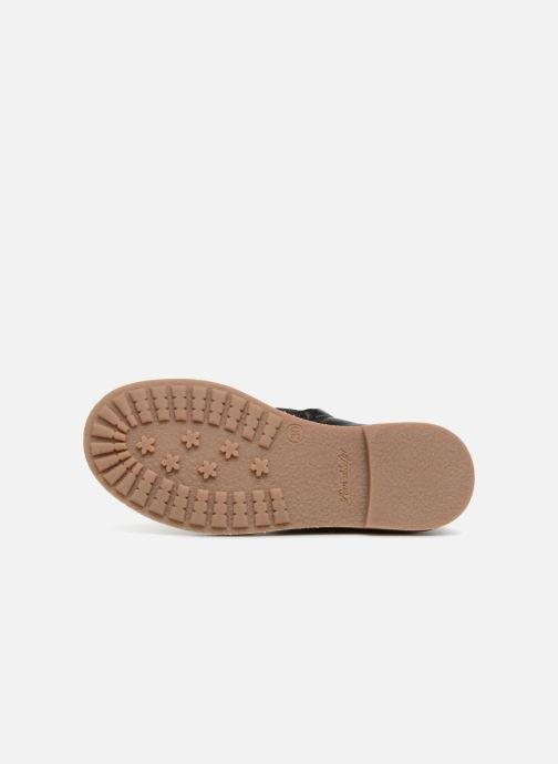 Bottines et boots Pom d Api New Trip Glitter Noir vue haut