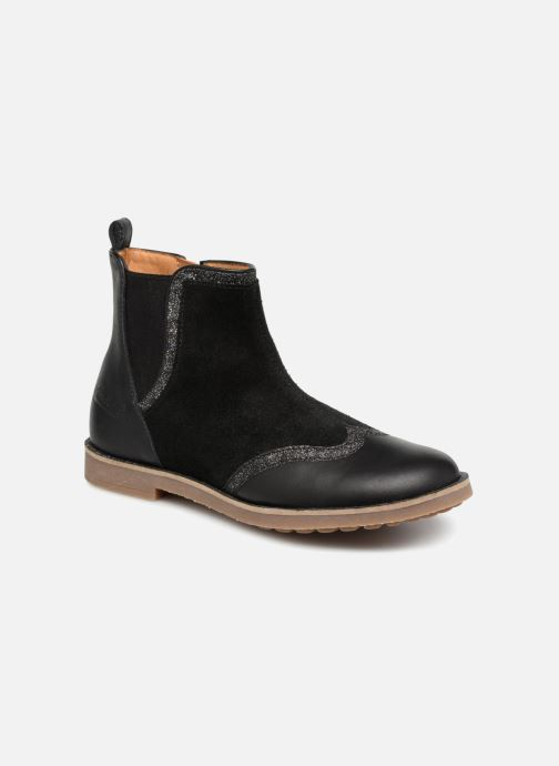 Boots en enkellaarsjes Pom d Api New Trip Glitter Zwart detail