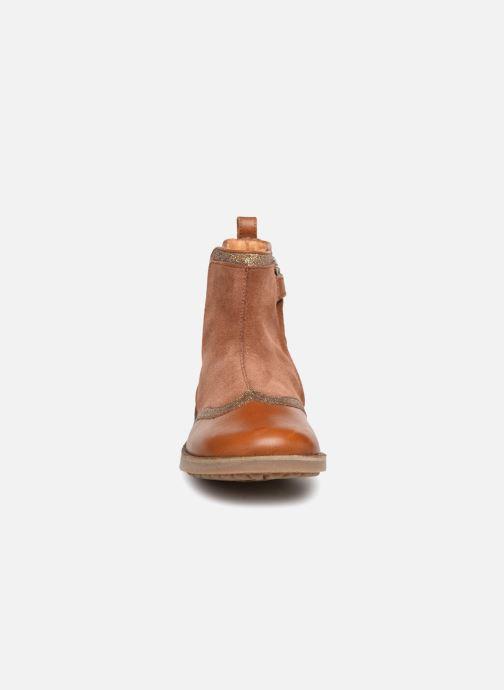 Bottines et boots Pom d Api New Trip Glitter Marron vue portées chaussures