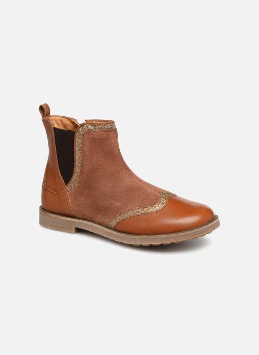 Boots en enkellaarsjes Pom d Api New Trip Glitter Bruin detail