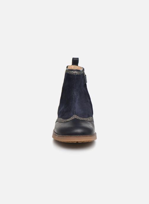 Ankle boots Pom d Api New Trip Glitter Blue model view