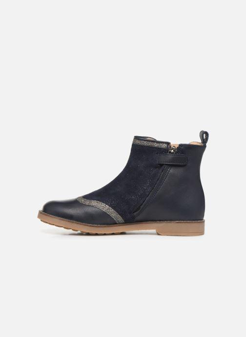Boots en enkellaarsjes Pom d Api New Trip Glitter Blauw voorkant