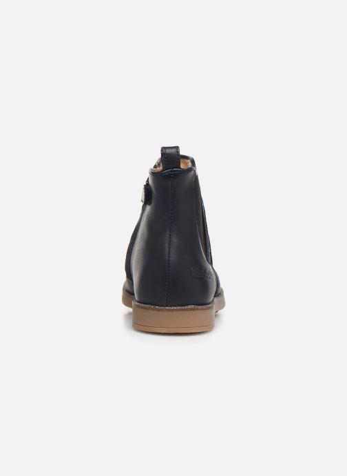 Bottines et boots Pom d Api New Trip Glitter Bleu vue droite