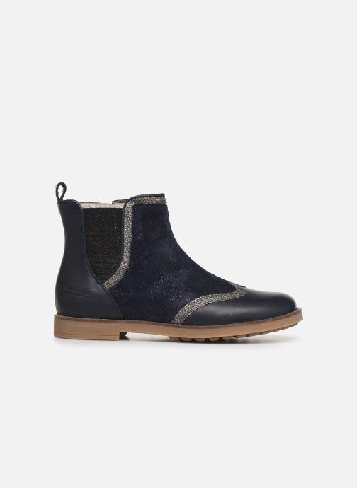 Boots en enkellaarsjes Pom d Api New Trip Glitter Blauw achterkant