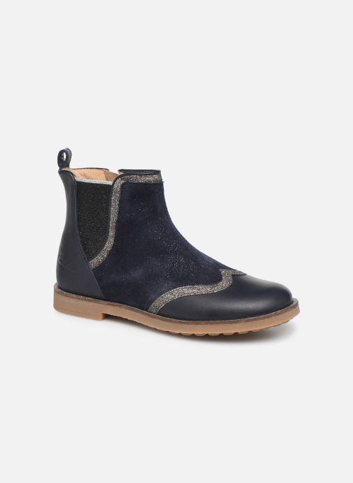 Bottines et boots Pom d Api New Trip Glitter Bleu vue détail/paire