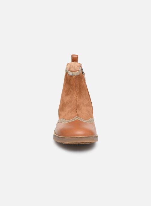 Stiefeletten & Boots Pom d Api New Trip Glitter braun schuhe getragen