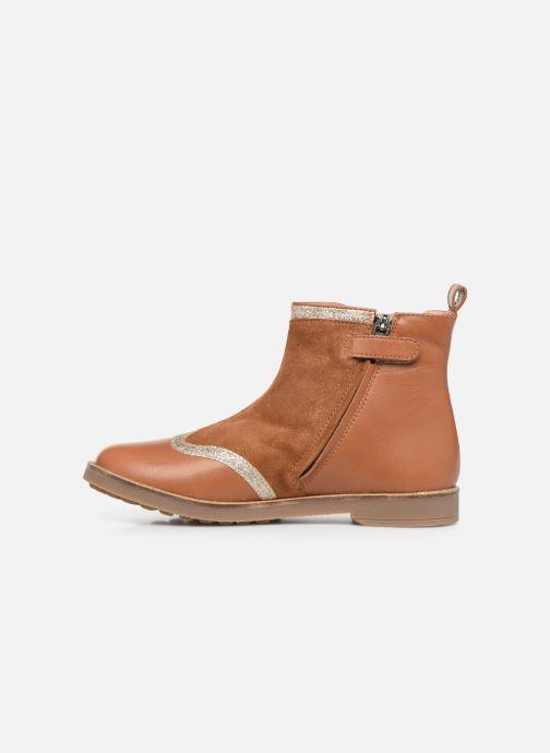 Stiefeletten & Boots Pom d Api New Trip Glitter braun ansicht von vorne