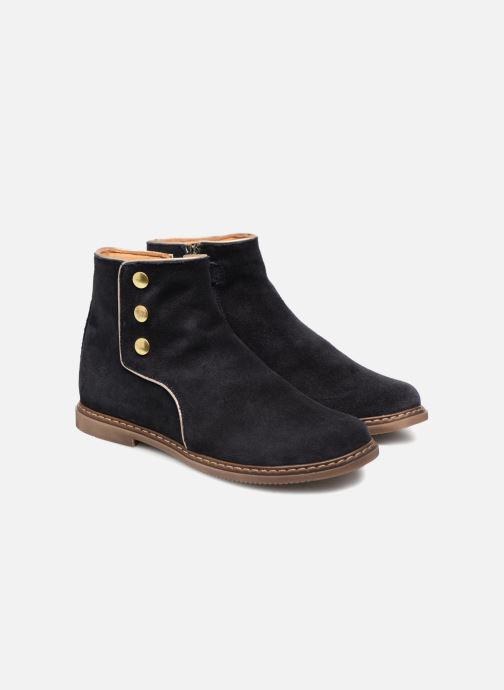 Boots en enkellaarsjes Pom d Api City Guetre Blauw 3/4'