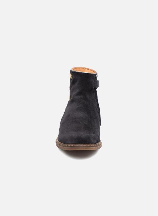 Bottines et boots Pom d Api City Guetre Bleu vue portées chaussures