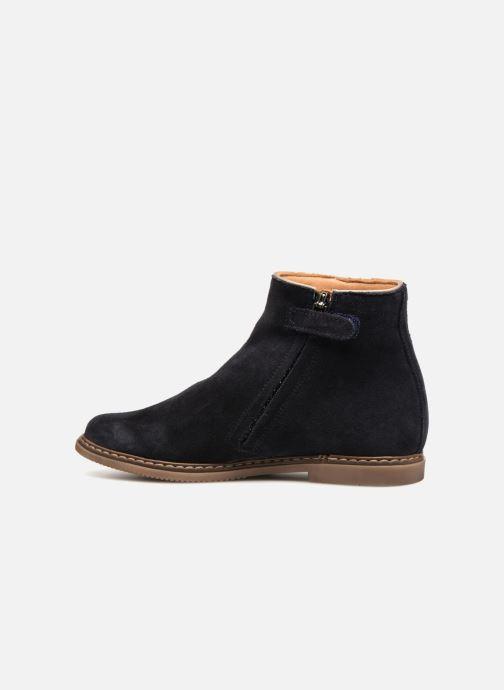 Bottines et boots Pom d Api City Guetre Bleu vue face