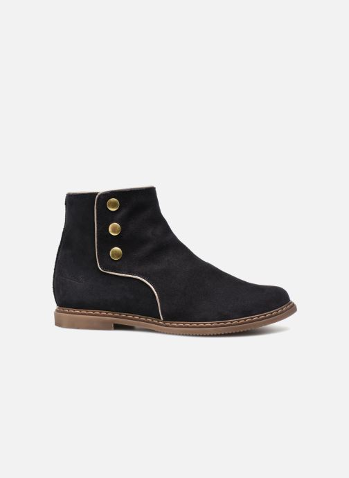 Bottines et boots Pom d Api City Guetre Bleu vue derrière