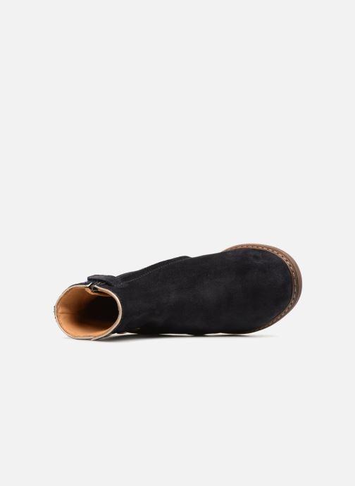 Bottines et boots Pom d Api City Guetre Bleu vue gauche