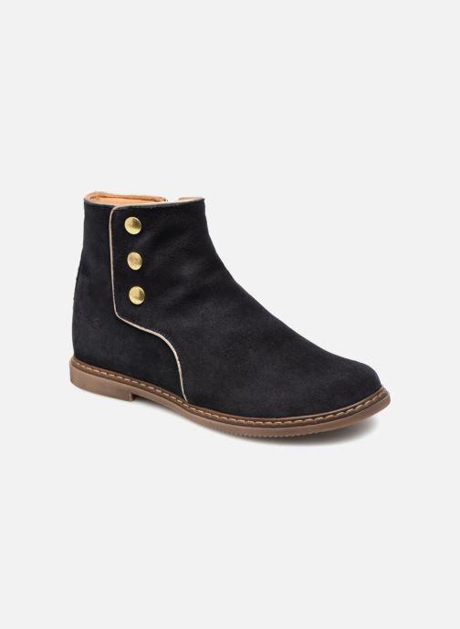 Bottines et boots Pom d Api City Guetre Bleu vue détail/paire