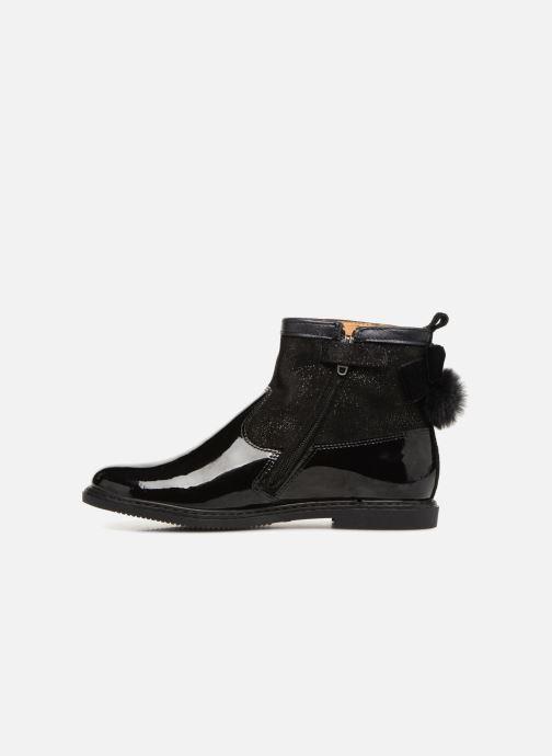 Boots en enkellaarsjes Pom d Api City Knot Mink Zwart voorkant
