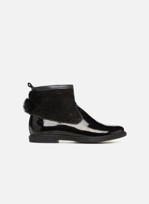Boots en enkellaarsjes Pom d Api City Knot Mink Zwart achterkant
