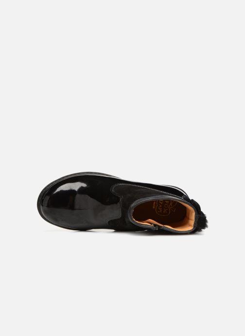 Bottines et boots Pom d Api City Knot Mink Noir vue gauche