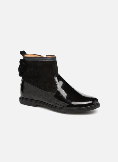 Bottines et boots Pom d Api City Knot Mink Noir vue détail/paire