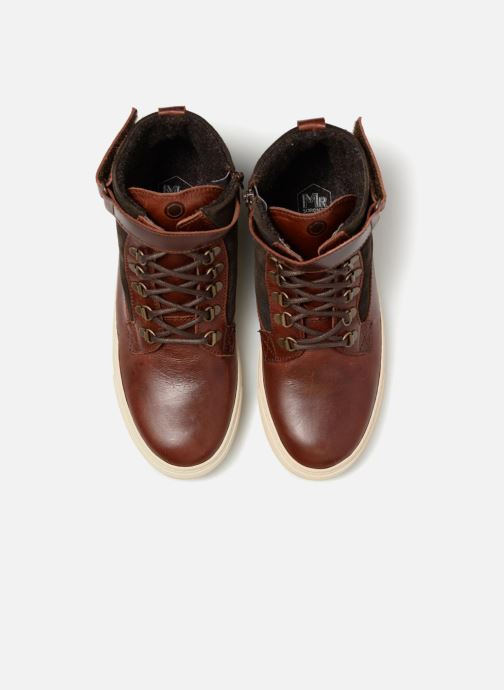Sneaker Mr SARENZA Slinview braun schuhe getragen