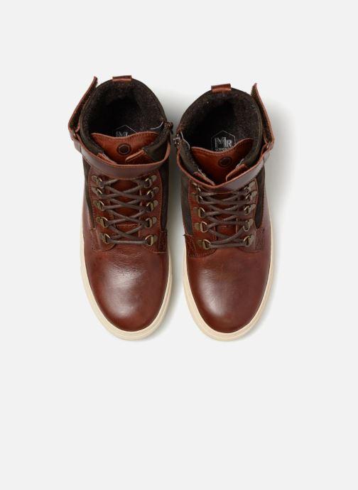 Sneakers Mr SARENZA Slinview Marrone modello indossato
